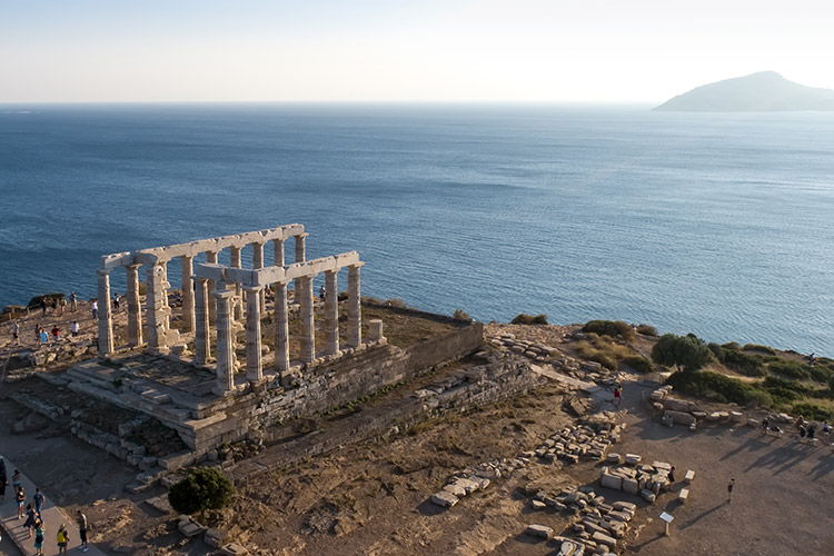 Athens wine tour, luxury wine food tour Athens, Cape Sounion sunset tour