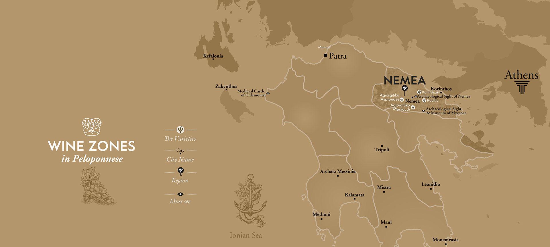 Peloponesse wines, Nemea wines, Nemea wineries, Agiorgitiko wine, visit Nemea, wine tour of Greece, Athens wine tour